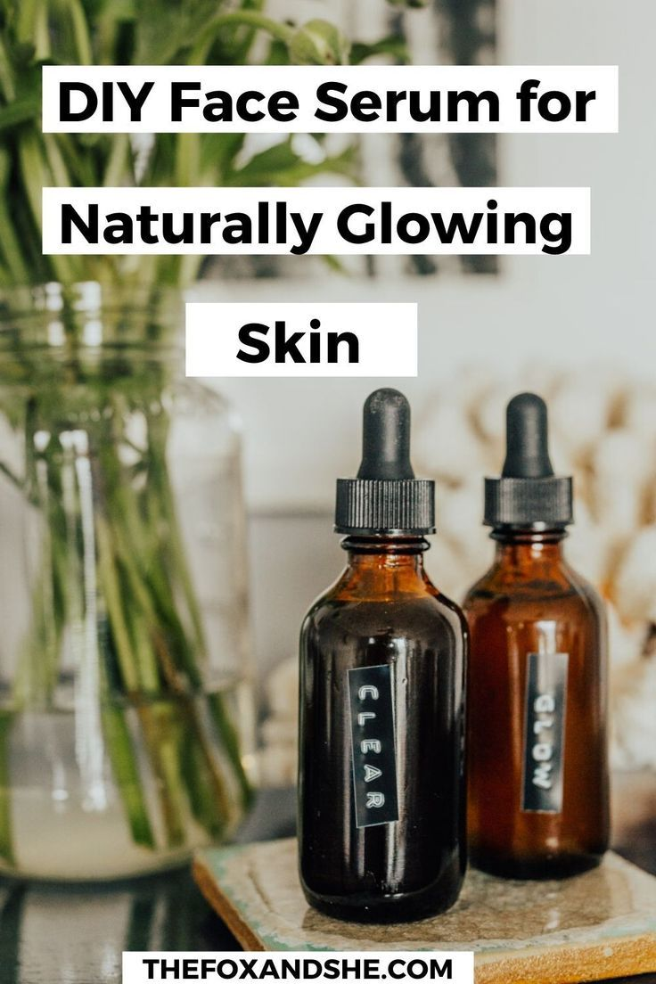 DIY Face Serum for Clear & Glowy Skin The Fox & She in