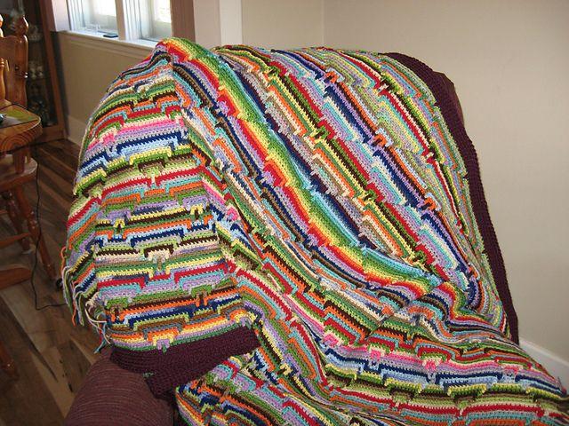 Crochet Patterns Navajo Afghan : Navajo Indian Diamond Pattern Afghan Crochet Amazing Pinterest