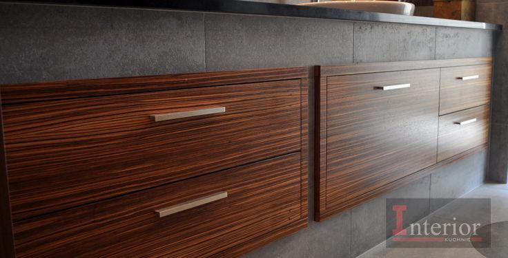 Interior szafka łazienkowa fornirowana