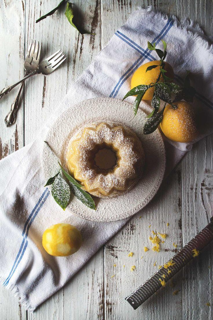 Meyer Lemon Almond Tea Cake