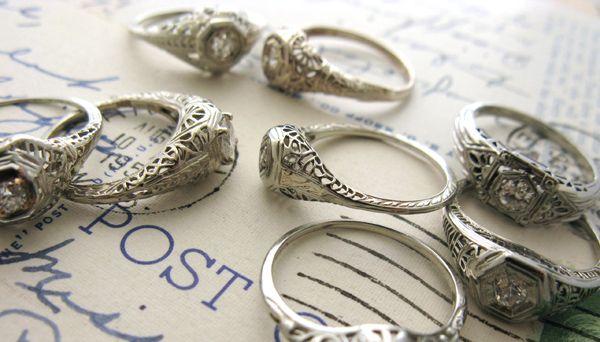 vintage heirloom rings: Antique Engagement Rings, Antique Rings, Rings Sydney, Pretty Antique, Vintage Rings, Heirloom Rings, Antiques Engagement Rings, Rings Engagement, Antiques Rings