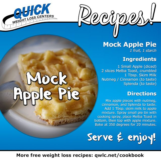 A healthy take on a classic dessert!  Find more weight loss recipes at http://quickweightloss.net/recipes