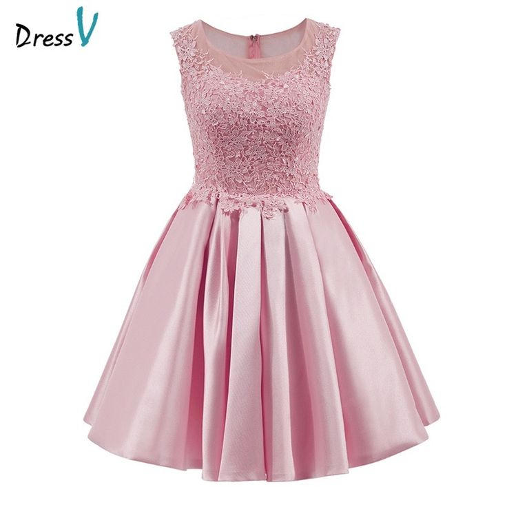 Dressv homecoming dress goedkope perzik een line mini applicaties cocktail jurk boven knie goedkope grijs korte lace homecoming jurk