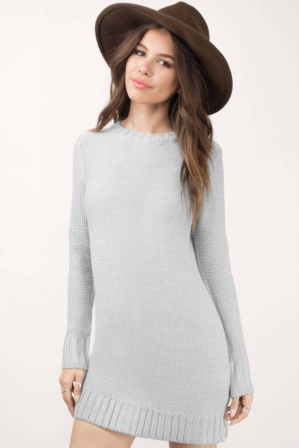 Never Give Up Sweater Dress at Tobi.com #shoptobi