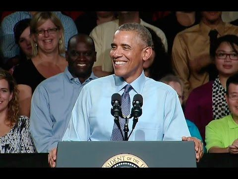 The President and Dr. Biden Speak at Macomb Community College
