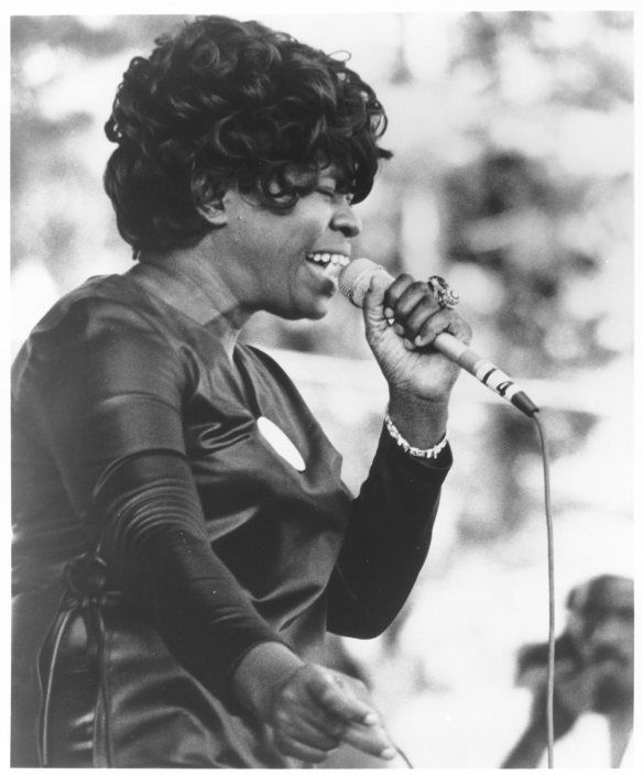 Koko Taylor was a human hurricane. Powerful, impressive, scary but beautiful. If you don't know what I mean, check out http://theaudiofilespresent.blogspot.be/2014/03/episode-3-on-road-volume-one.html