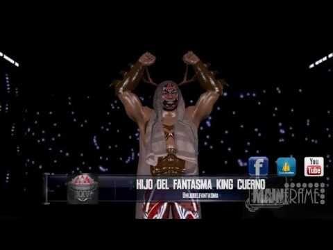 KING CUERNO ENTRADA EN WWE 2K17 CAW DE LUCHA UNDERGROUND