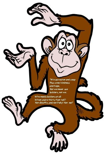 The Giraffe and the Pelly and Me Monkey Poetry Example