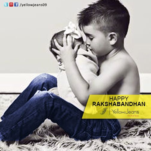 Nothing in the whole world is better than having a sister..  Happy Raksha bandhan