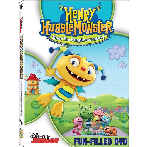 Henry Hugglemonster: Meet The Hugglemonsters DVD....Alexis loves Henry!