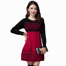 5 Doce Cor Nova 2016 Outono O-pescoço Das Mulheres Camisola de Manga Longa Pullovers Tricô Suéteres Casuais(China (Mainland))