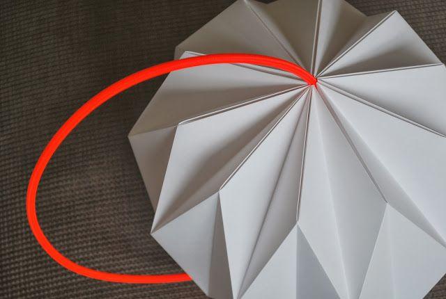 Origami lamp, NelleKus