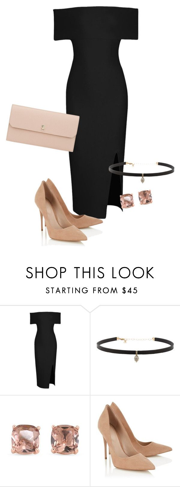 """Dinner"" by grraciie-386 on Polyvore featuring Carbon & Hyde, Carolee, Lipsy and…"