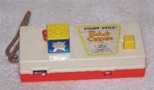 Had this little Fisher Price camera when I was little, saw it at the thrift store today!  The memories...
