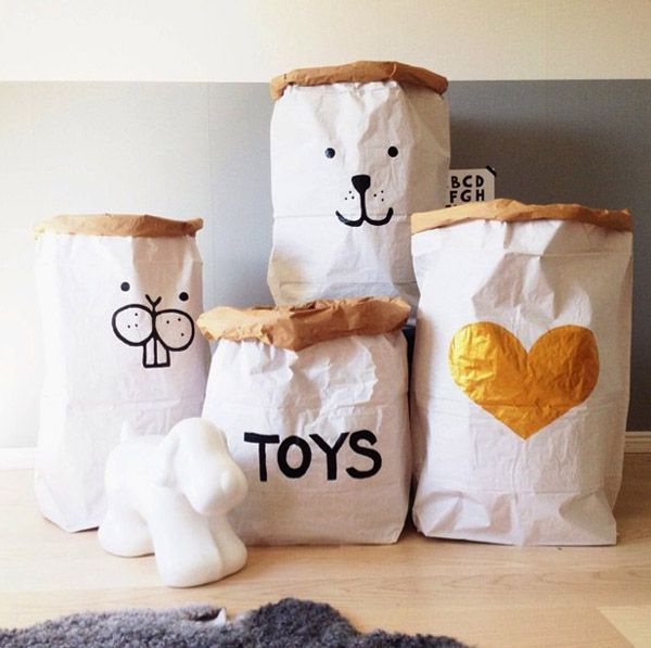 Sacos de tellkiddo para almacenar juguetes sacos - Ideas almacenaje juguetes ...