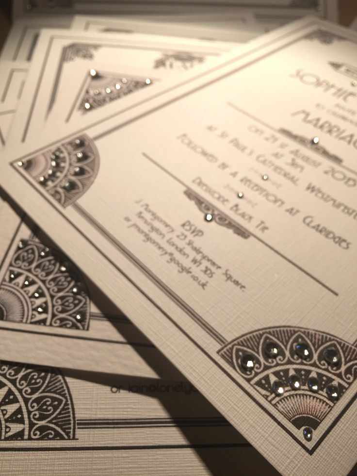 26 best London wedding invitations - vintage, handmade luxury ...