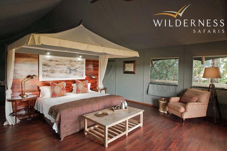 Chitabe Lediba - ideal for small groups or families. #Safari #Africa #Botswana #WildernessSafaris