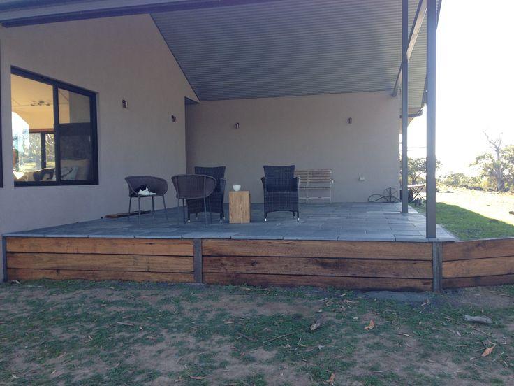 Outside patio/verandah