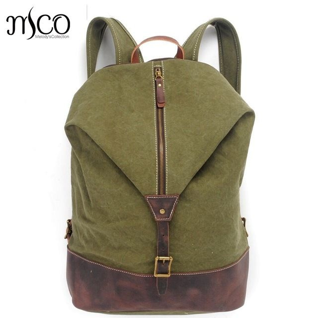 Good price Vintage Military Canvas Backpack Youth School Bags England Style Men Travel Backpack Bag Bolsas Mochila Unisex Large Rucksack just only $51.58 with free shipping worldwide  #backpacksformen Plese click on picture to see our special price for you