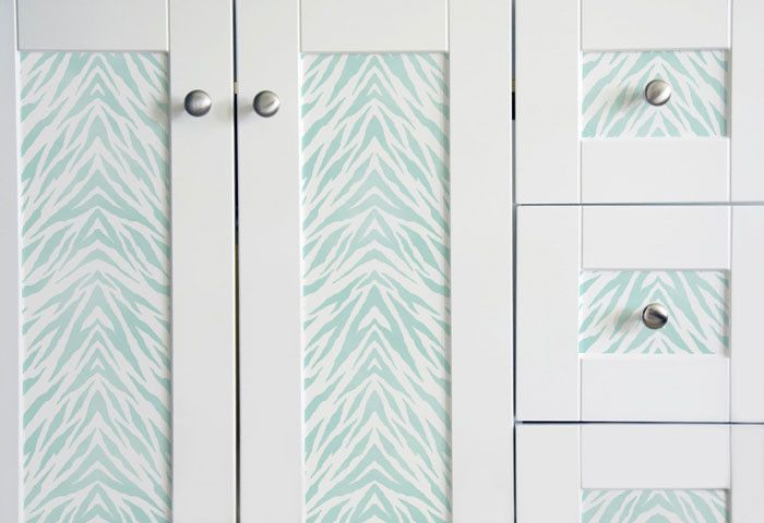 Stencils | Zebra Stripes Furniture Stencil | Royal Design Studio