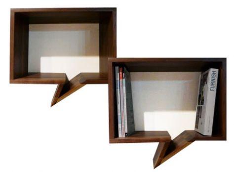 quote cute bookcase
