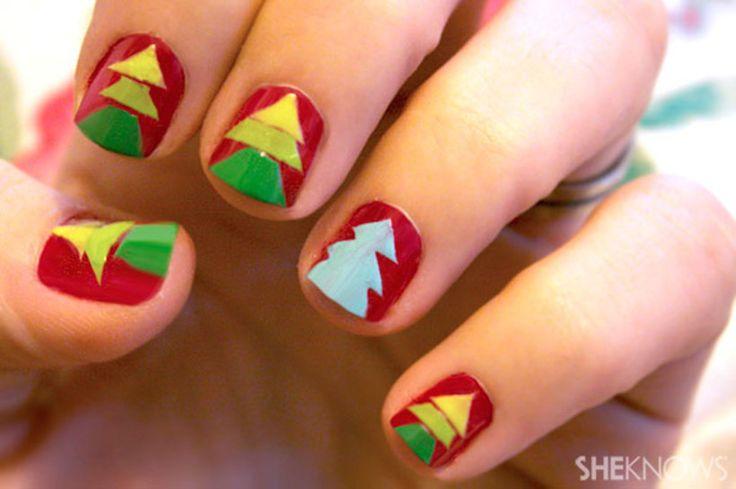 7 best Christmas Nail Art Designs For Kids images on Pinterest ...