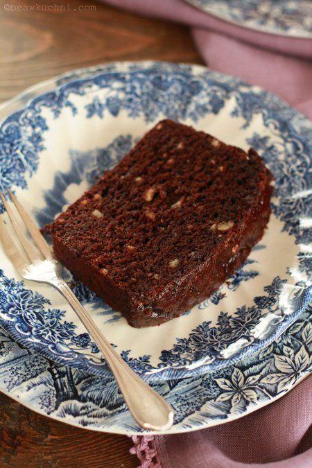 kryzysowe ciasto czekoladowe, bez nabiału i jajek