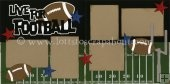 Live For Football Scrapbook Page Kit