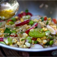 Quinoa, Corn and Edamame Salad - great entree for a hot night at my Redbook Party: Corn And Edamame Salad, Salad Recipes, Eatz Salad, Quinoa Edamame, Healthy Eating, Healthy Yummy, Eating Clean, Healthy Recipes, Health Summer Recipes
