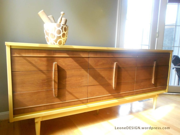 Find This Pin And More On Painted Mid Century Furniture Ideas By  Basementera.