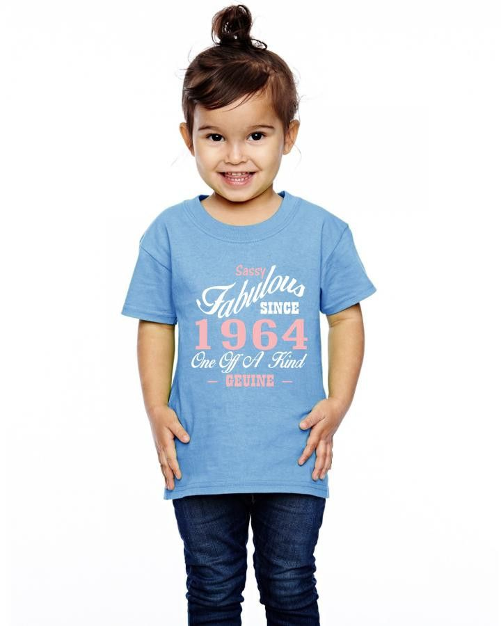sassy fabulous since 1964 birthday gift Toddler T-shirt