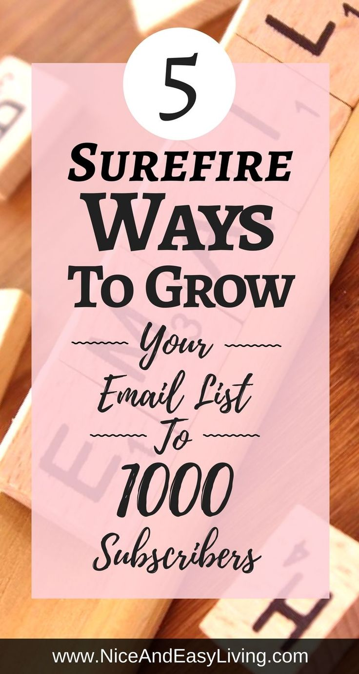 Grow Your Email List is the single most important thing that every online entrepreneur must be repeating! it's well known that email marketing has absolutely the highest ROI. Higher than any other marketing channel. That is something to bear in mind.  https://niceandeasyliving.com/grow-your-email-list/ #emailmarketing #email #internetmarketing #onlinebusiness #aniksingal