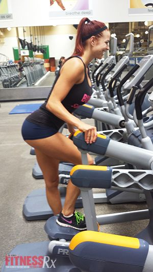 A Mind-blowing Tush Workout: Interval Cardio with the AMT Machine
