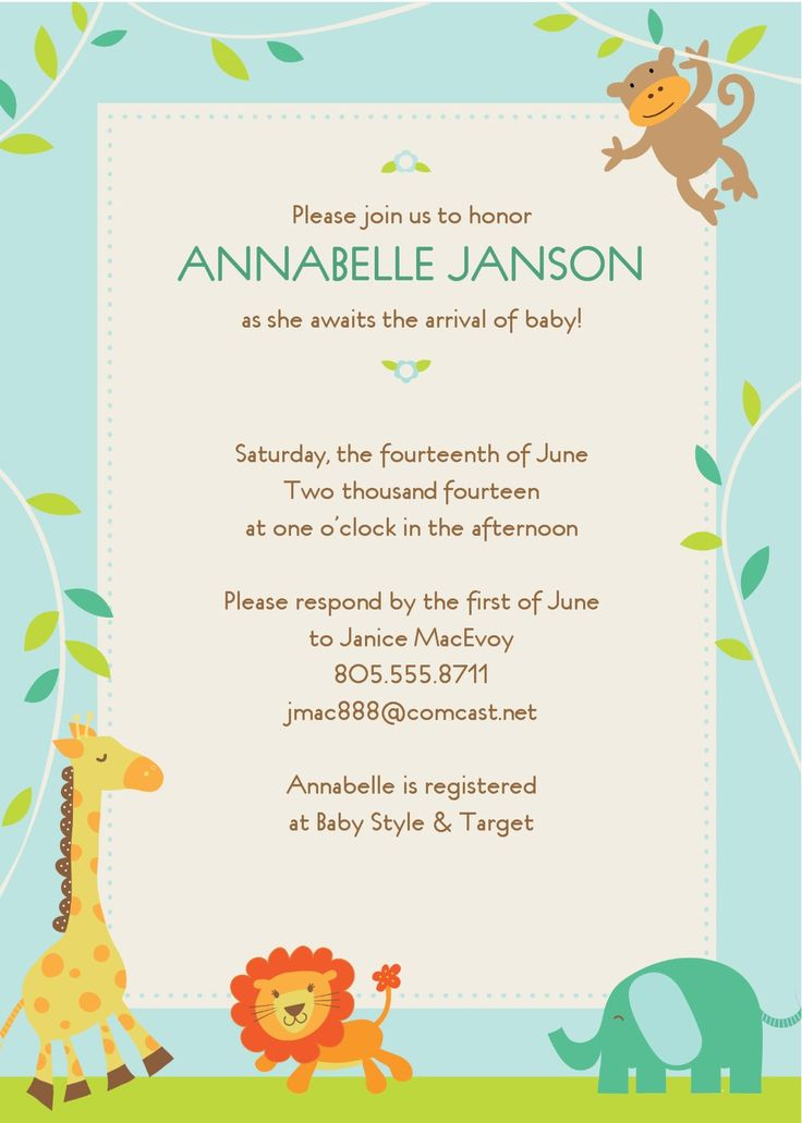 17 best ideas about Baby Shower Invitation Templates – Baby Shower Invitation Templates