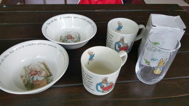 My Peter Rabbit  wedgwood  ceramic