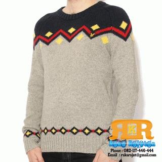 Sweater Rajutan Pria Intersia Tribal  Informasi harga silakan kunjungi alamat website diatas