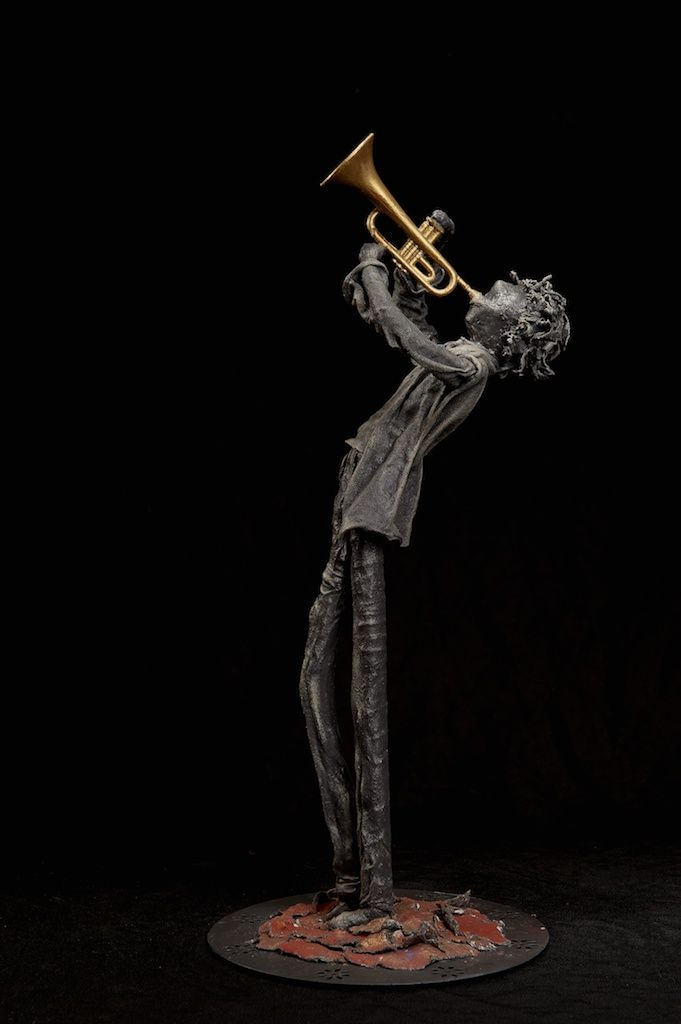 """""""Blow"""" - Sculpture made with Paverpol (adhesive and hardener for textiles) by Mary Lou Devine / Simply Devine Paverpol"""