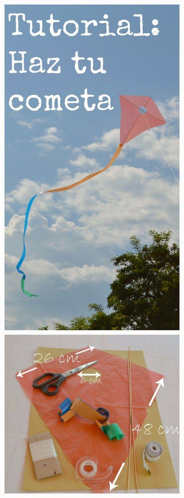 Tutorial: Cómo hacer tu propia cometa ~ Manzanaterapia