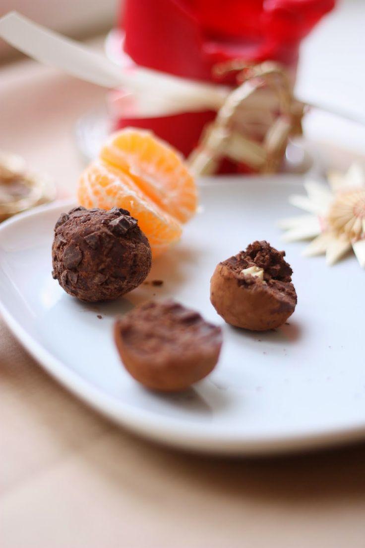 Vous voulez connaitre LA recette qui va vous faire regarder les truffes d'un autre œil? Mais d'un bon œil, promis! Vous savez, celui qui ...