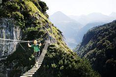 7 Klettersteige für Anfänger in den Alpen   Bergwelten