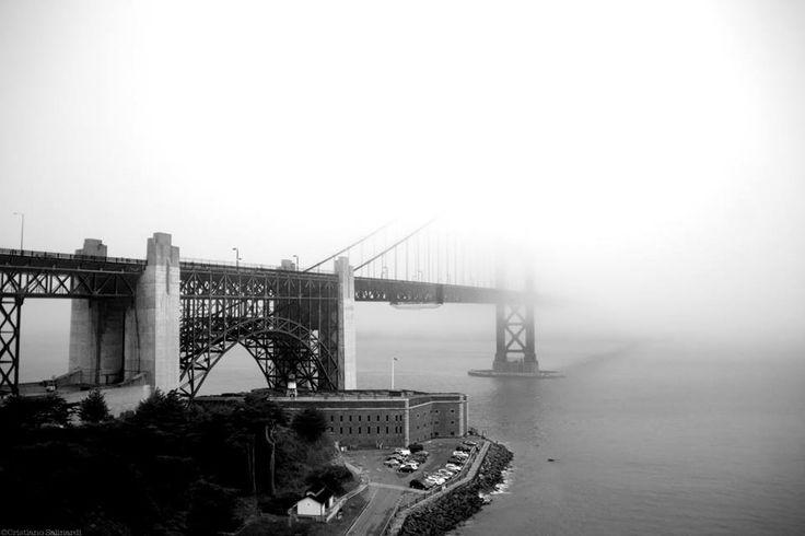 SELECTION OF THE DAY by @ExpoFineArt > Foggy Life >  San Francisco - 2013 >  Photo © Cristiano Salinardi > #Expo #FineArt #Photography > #Cityscape