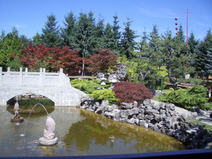 Garden of the International Buddhist Society Temple