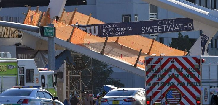 Florida bridge collapse bodies still in crushed cars