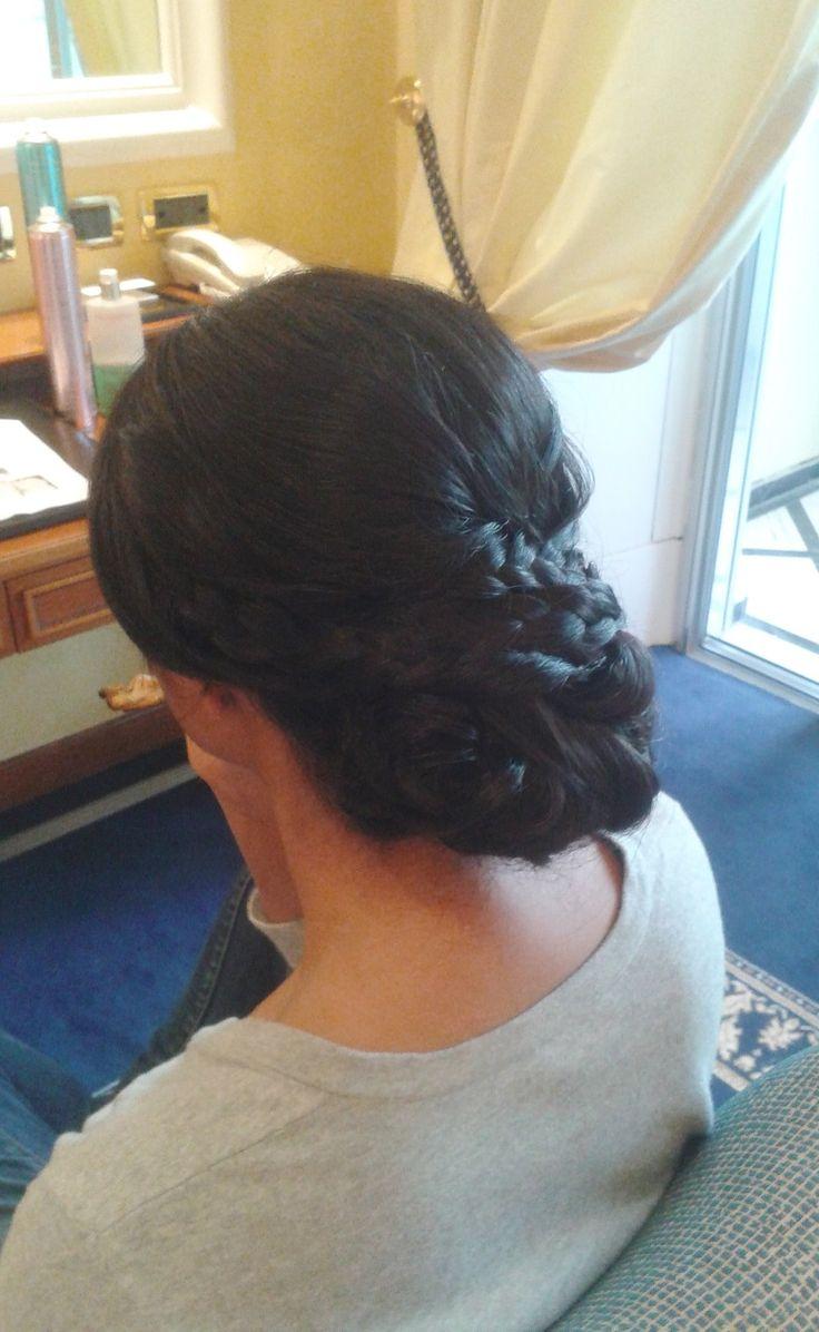 Braided hairstyle by Janita Helova, Rome/ Italy  http://janitahelova.wix.com/janita-helova