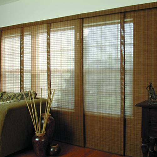 4 Panel Sliding Glass Door: 1000+ Ideas About Sliding Panel Blinds On Pinterest