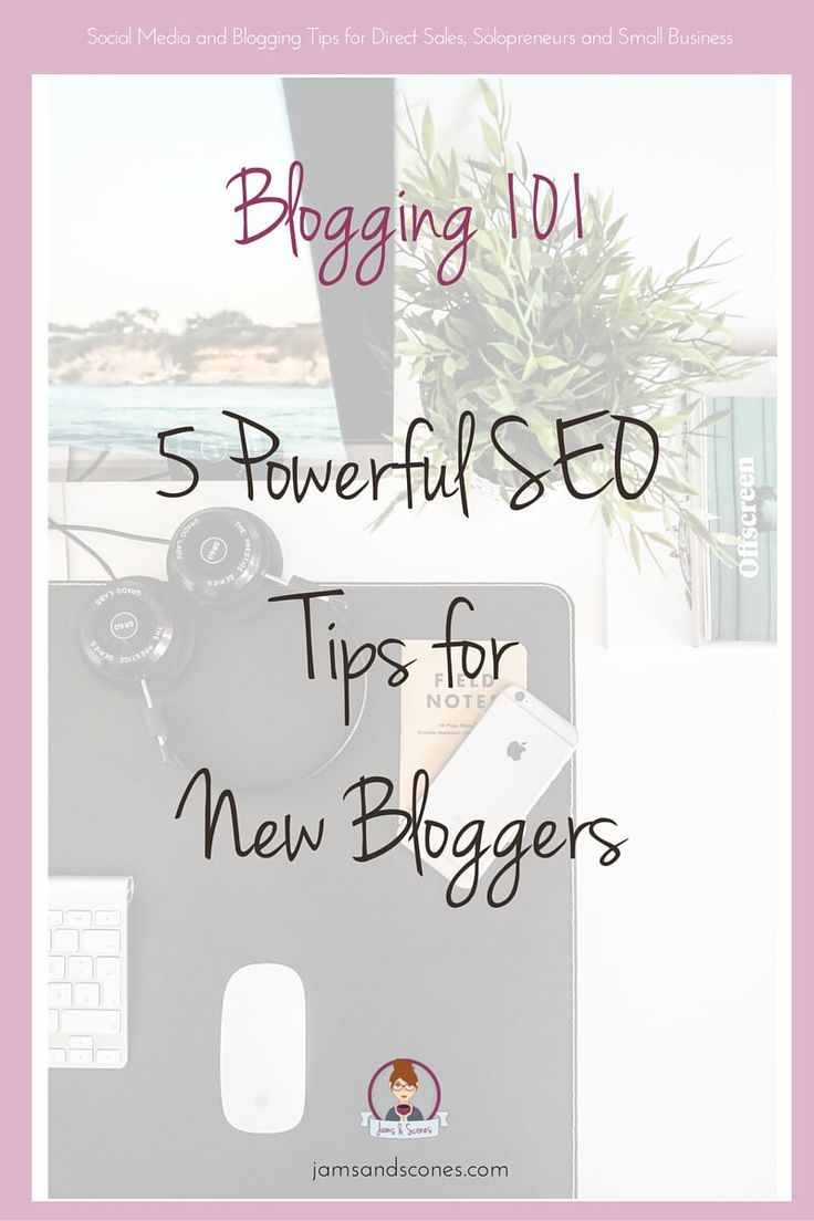 SEO tips for new bloggers to help start getting traffic to your blog. Creating backlinks, Yoast, anchor text and more. SEO basics to get more eyes on your blog.