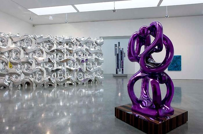 ANSELM REYLE    Monochrome Age, 2009    Exhibition view    Gagosian Gallery, 555 West 24th St, New York