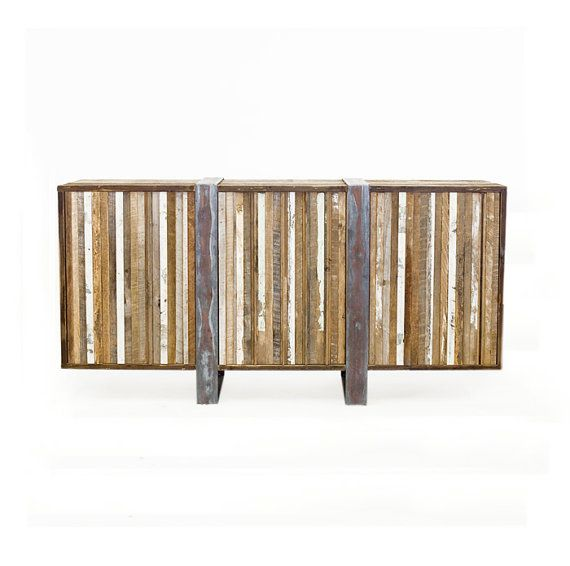 Gorgeous Media Cabinet, Reclaimed Oak from Old Barn on Etsy, $2,078.67 CAD