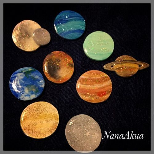 "The new book ""Nanaakuya Prabang accessories"" on Nanaakuya, planet pin badge also…"
