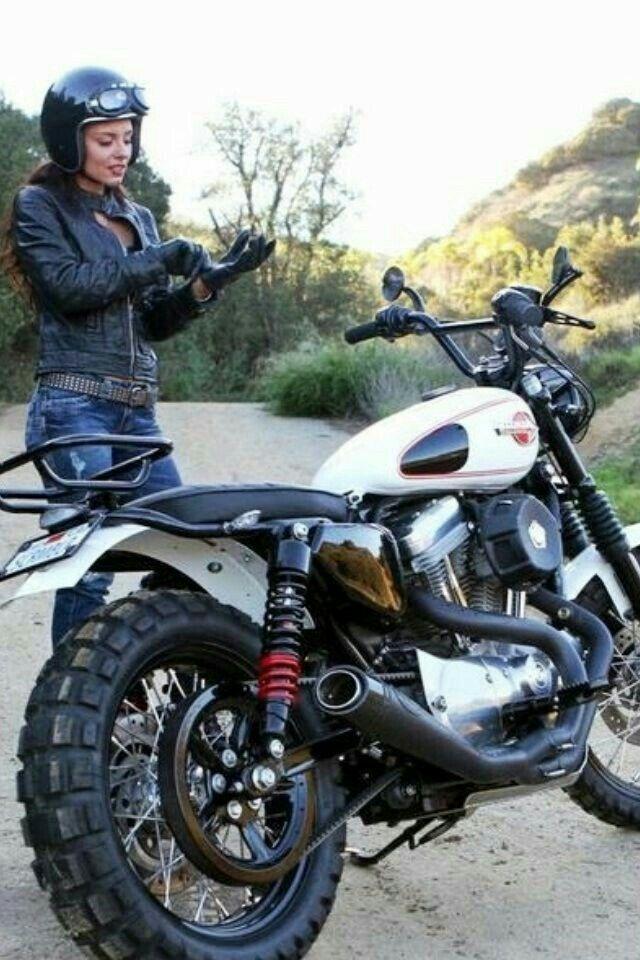 Dual sport Harleys